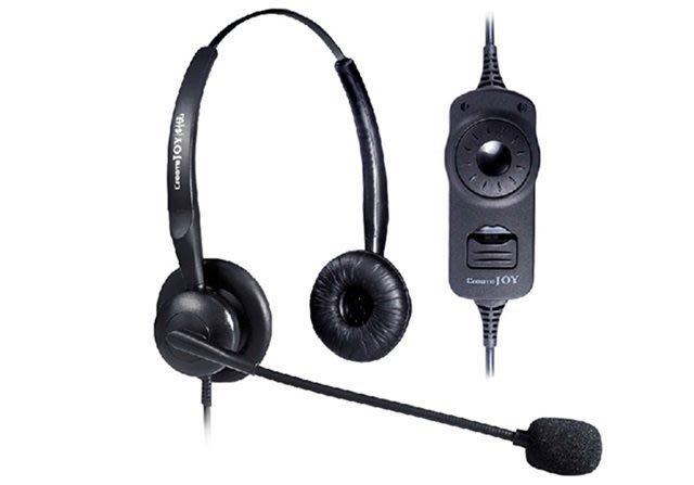 #8 雙耳耳機 客服耳麥 帶靜音調音,話務耳機 話務耳麥 電話耳麥 耳機 麥克風 水晶頭 電話機用