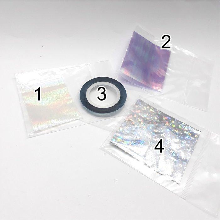 限量現貨 雷射彩虹條紙 雷射細膠帶