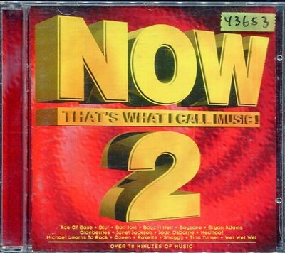 *還有唱片行* NOW / THAT'S WHAT I CALL MUSIC 2 二手 Y3653