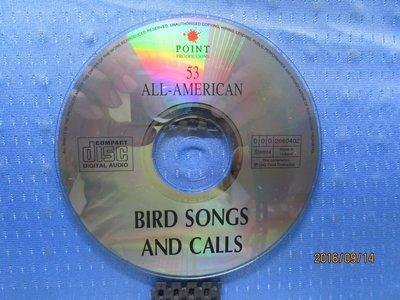 [無殼光碟]Y 53 All American Bird Songs and Calls