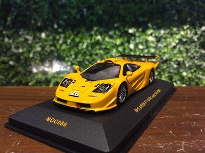 1/43 IXO McLaren F1 GTR Long Tail 1996 MOC086【MGM】
