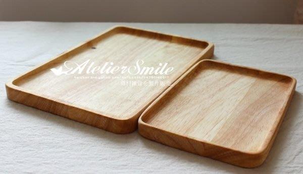 [ Atelier Smile ] 鄉村雜貨 歐洲進口橡木 烘焙廚房專用 MUJI風托盤 餐盤 兩款選 (現+預)