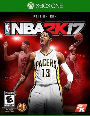 NBA 2K17 XBOX ONE 亞版中文版