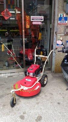 全新HONDA本田5.5HP四行程引擎(可前進可後退)三輪自走式割草機(適合果園/學校)---HONDA台南門市
