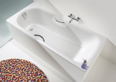 德國KALDEWEI SANIFORM PLUS STAR 琺瑯鋼板浴缸 160x70cm