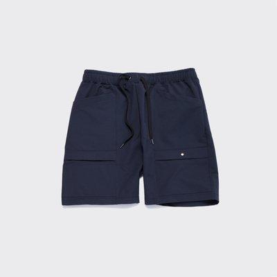 【 WEARCOME 】AUDIENCE MOVE-FIT POCKET SHORTS 日本製 口袋 機能短褲 / 深藍