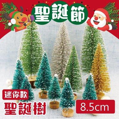 [台灣現貨] 8.5公分 聖誕節迷你雪松聖誕樹 聖誕佈置 聖誕樹 聖誕節 聖誕節禮物 交換禮物 《馬克丹尼平價批發》