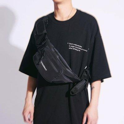 南◇2019 5月 DISARRAY 3-Packet Belt Bag  戰術彈夾側背包 黑色 橘色 灰色 腰包 可拆