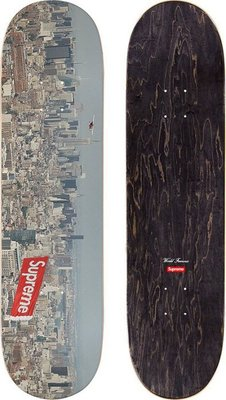 【MASS】SUPREME AERIAL SKATEBOARD 大都會 滑板