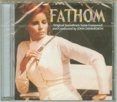 """""""從天而降的間諜 Fathom""""- John Dankworth,全新歐版,Eur214"""
