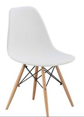 【人家人具】白色餐椅迪仕ZF488-16