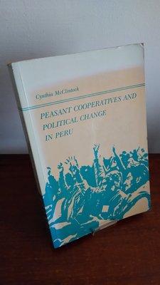 【英文舊書】[南美] Peasant Cooperatives and Political Change in Peru