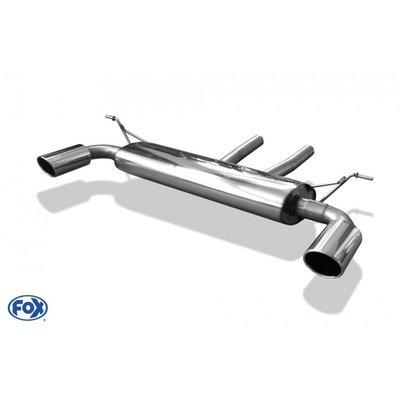 DIP 德國 Fox 排氣管 Audi 奧迪 Q7 3.0l TFSI 4.2l FSI 4.2l TDI 尾段 雙邊 單出 橢圓 專用 05+