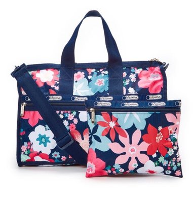 Lesportsac 7184 D877 手提 肩背 斜背中款旅行包 旅行袋 化妝包,含運2490,現貨在台灣⋯出清出清