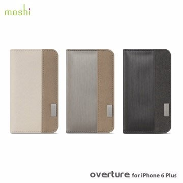 moshi Overture for iPhone 6 / 6S Plus (5.5吋) 側開 卡夾型 保護套
