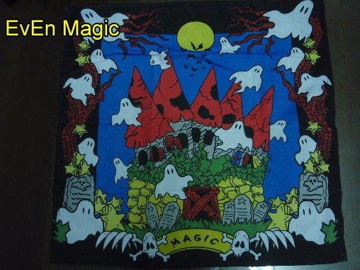 【意凡魔術小舖】手帕有鬼 幽靈手帕 絲巾有鬼 幽靈絲巾 小朋友才藝表演 親子活動