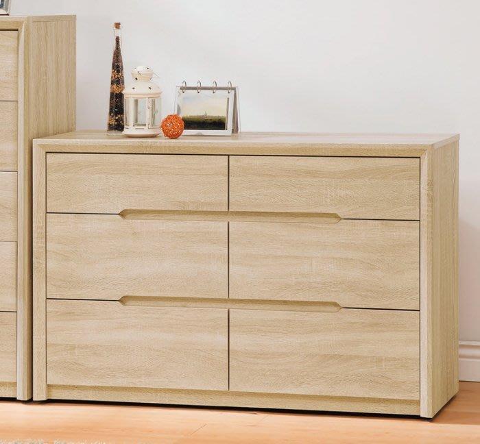 【DH】商品貨號V30-3商品名稱喬斯四尺六斗櫃(圖一)木心板/台灣製/可訂做。備五斗櫃另計。簡約雅緻.主要地區免運費