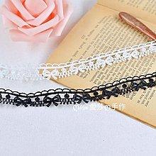 『ღIAsa 愛莎ღ手作雜貨』蝴蝶結水溶花邊輔料服裝製衣項鍊蕾絲材料寬1.5cm