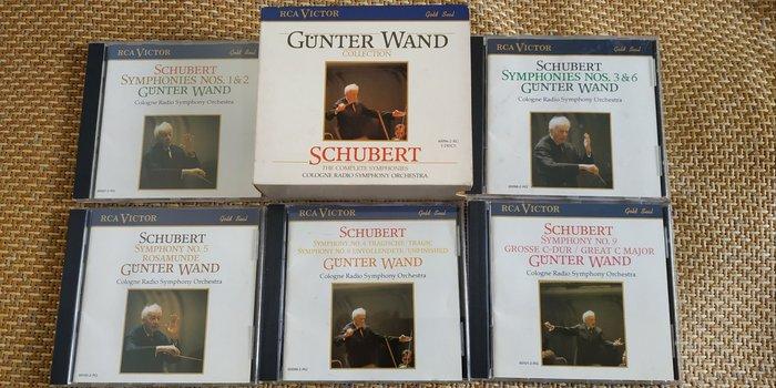 好音悅 Wand 汪德 Schubert 舒伯特 交響曲全集 5CD RCA USA美版 無IFPI 科隆西德廣播交響