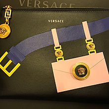 Versace bag pouch leather 真皮