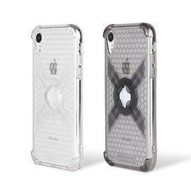 (I LOVE 樂多) Intuitive-Cube  iPhone XR 6.1吋 保護殼 氣囊+蜂巢式防護