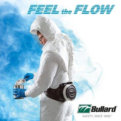 PAPR 動力濾淨式呼吸防護具 美國製 BULLARD 山田安全防護 呼吸防護具 呼吸防護計畫 空氣過濾