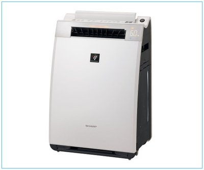 SHARP夏普空氣清淨機KI-EX55-W