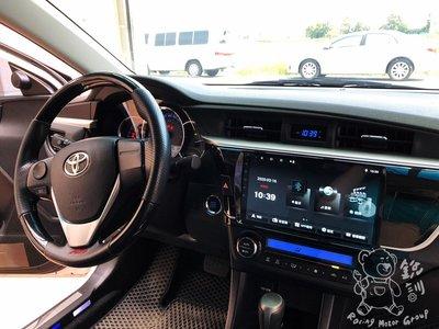 銳訓汽車配件精品 11代 ALTIS 專用10吋螢幕V55系列安卓機*8核心4+32G(台南到府安裝)