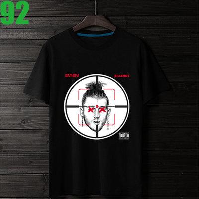 Eminem【阿姆】短袖嘻哈饒舌(HIP-HOP RAP)歌手T恤(共5種顏色可供選購) 購買多件多優惠!【賣場十九】