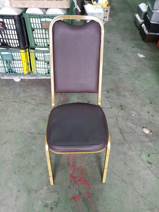二手家具全省估價(大台北冠均 泰山店)二手貨中心--簡單舒適皮餐椅 餐廳椅 洽談椅 宴會椅 吃飯椅 C-032602