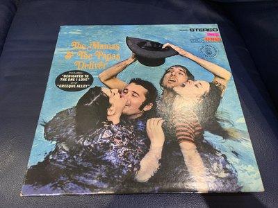 開心唱片 (THE MAMAS & THE PAPAS / DELIVER) 二手 黑膠唱片 CC263