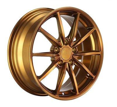 CS車宮車業 Nashin 世盟 單片式 鍛造 鋁圈 E118 17吋 5/100.5/114 ET25~45
