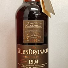 格蘭多納Glendronach whisky威士忌/ 20 years /  Oloroso Sherry Butt