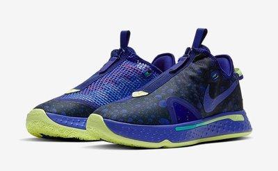 【C.M】Nike PG 4 Gatorade CD5086-500 開特力 黑紫藍 Paul George