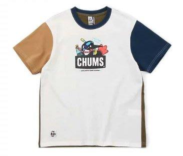 小阿姨shop CHUMS Scuba Diving Booby T-Shirt 女 美國棉短袖上衣
