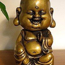 【 金王記拍寶網 】H090 (常五) 中國近代銅雕藝術 彌勒佛 一尊 罕見稀少~