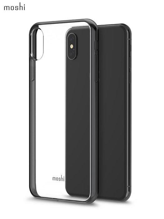 999蘋果Xs MAX透明手機殼硅膠軟殼防摔亮邊框保護外殼新款清新簡約保護套iphoneXS MAX輕薄手機殼