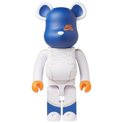 ~克莉絲丁時尚衣櫥~ BE@RBRICK NIKE SB DUNK 聯名限量1000%公仔熊