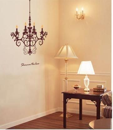 小妮子的家@裝飾吊燈壁貼/牆貼/玻璃貼/磁磚貼 /家具貼/汽車貼