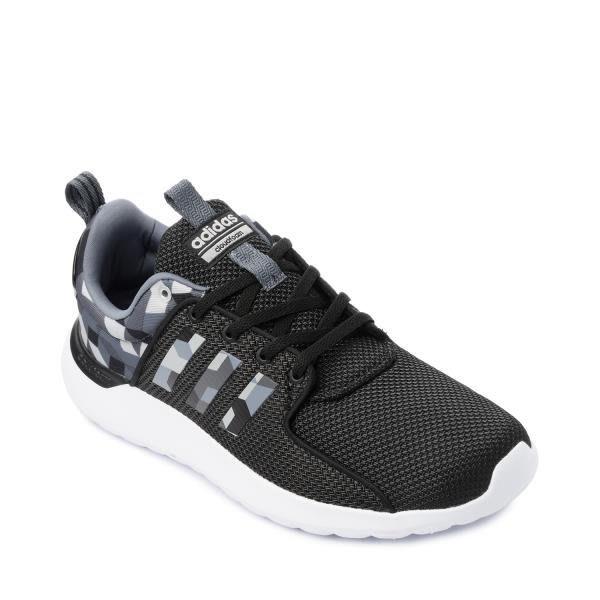 運動GO~ Adidas Cloudfoma Lite Racer 黑白 灰幾何圖 慢跑鞋 男 休閒 穿搭 AW4032