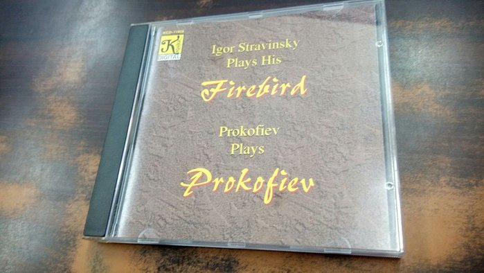 好音悅 老K 大K Klavier Stravinsky plays his Firebird .USA美版 無IFPI