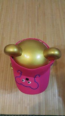 ((米加拉星)) WHY AND 1/2 ((斷貨款)) 普普熊遮陽帽 桃色