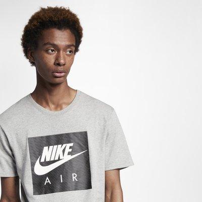 S.G NIKE NSW AIR 棉質 運動休閒 短袖T恤 短T 上衣 男款 AA6296 白色100 灰色063
