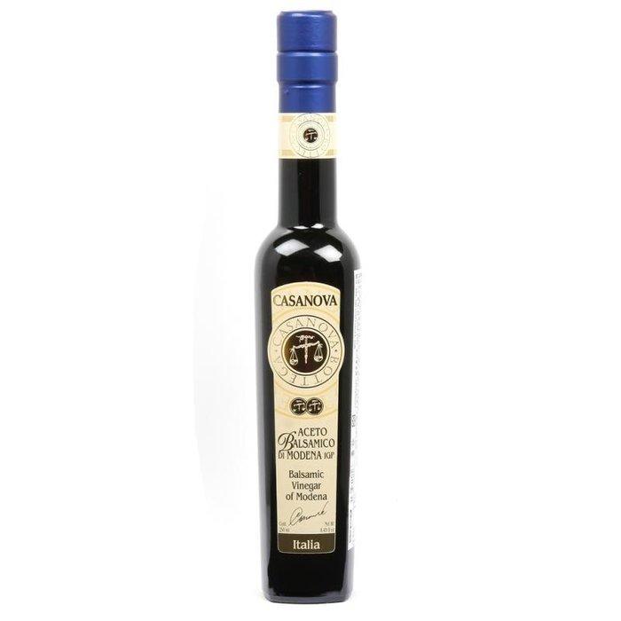 義大利摩德納卡薩諾瓦[CASANOVA]巴薩米克IGP陳年葡萄醋250ml-4年 (量大另議)