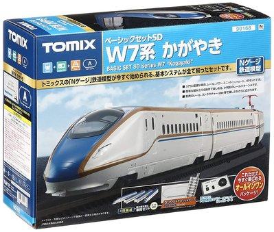 八田元氣小棧:(日版)全新未拆 TOMIX 90168 N軌入門套裝組W7系