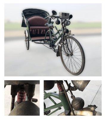 7513弘遠名人典藏館  日據時代人力車
