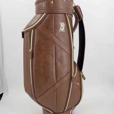 探險者~高爾夫球包golf包Majesty標準球包男女通用PU超纖皮包球高爾夫