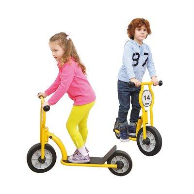 【晴晴百寶盒】台灣品牌 威力兩輪滑板車 WISDOM 學步車 尋寶遊戲 教具益智遊戲 環保無毒玩具 遊戲 W930