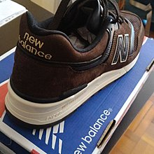 100%new NB 997, Made in USA, brown leather