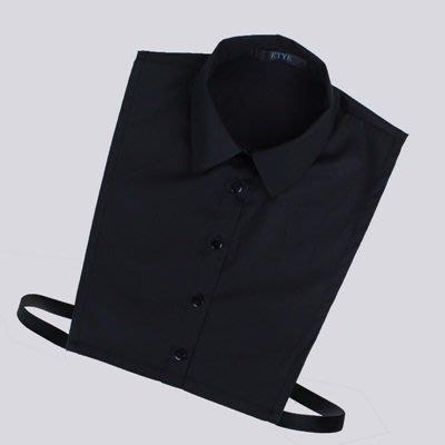 假領子 襯衫 領片-簡約小方領純棉純色女裝配件2色73va1[獨家進口][米蘭精品]